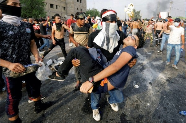 Protests in Iraq are going nationwide in what looks like a new 'Arab Spring' moment