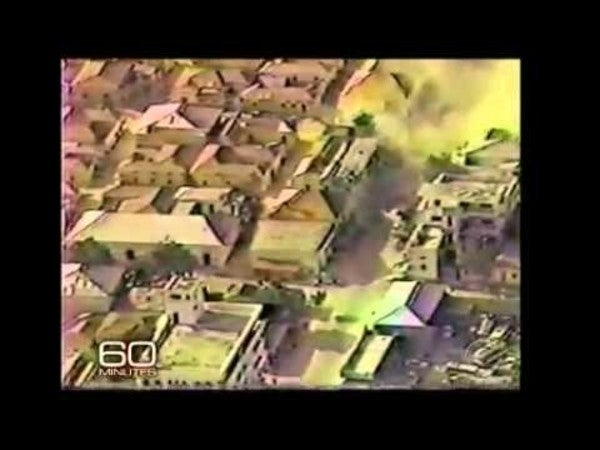 This video captures the 'catastrophic impact' that kicked off the fierce 'Black Hawk Down' mission 26 years ago