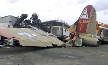We salute the Air National Guard chief master sergeant who pulled passengers from a fiery B-17 crash