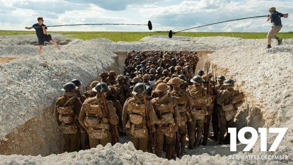 Here's a behind-the-scenes look at how '1917' shows World War I combat like never before