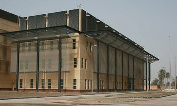 Iranian newspaper is suggesting that the US embassy in Baghdad be seized