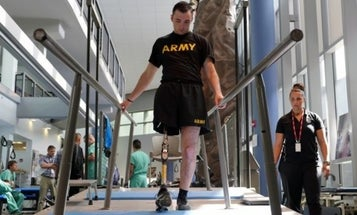 We salute the soldier who sacrificed his leg to save his battle buddies during a tank accident