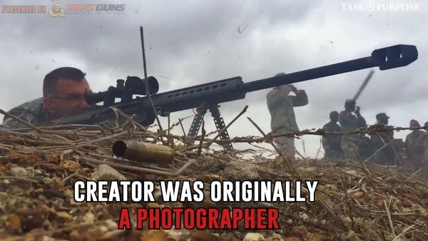 The .50 cal Barrett sniper rifle's strange origin story
