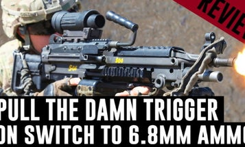 The Marine Corps is eyeing this lightweight polymer ammo for its 'Ma Deuce' .50 cal machine guns