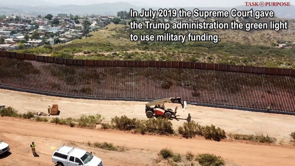 Judge rules Trump declaring a national emergency for border wall funding violates federal law