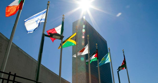 The UN is almost broke