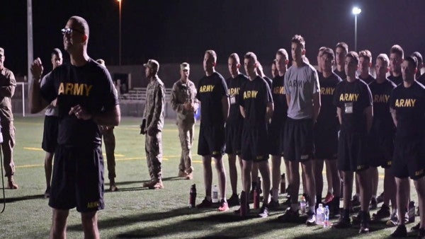 11 soldiers become the first to receive the Expert Soldier Badge