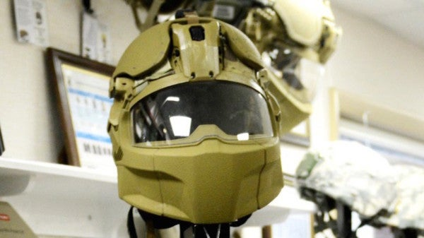 Here comes the Army's new ballistics helmet