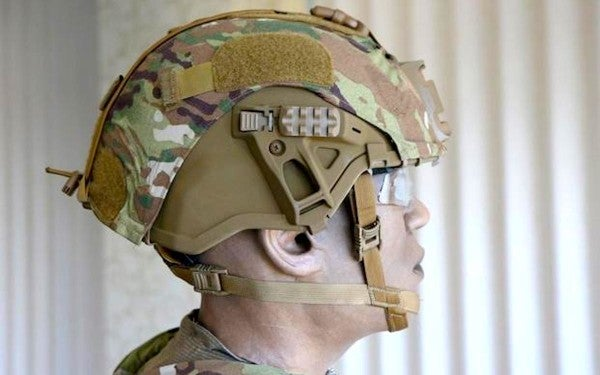 The Army has already secretly fielded its lighter, stronger helmet to a handful of lucky soldiers