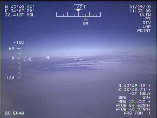A Navy 'Doomsday' plane was severely damaged by a single bird strike