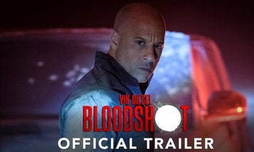 New trailer for 'Bloodshot' gives us Vin Diesel as a super soldier who can literally get shot in the face and just walk it off