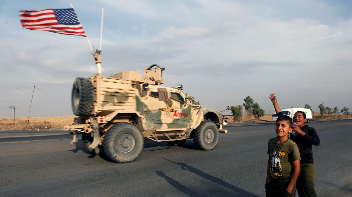 Iran-backed militias reportedly launch rockets targeting US troops in Iraq