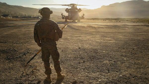 Marine dies in training accident at California mountain warfare center