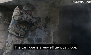 Up close and personal with one of the Army's potential M4 carbine and M249 SAW replacements