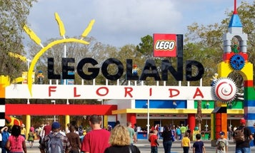 Vets can relive their childhood dreams of building massive block armies with free tickets to Legoland this November