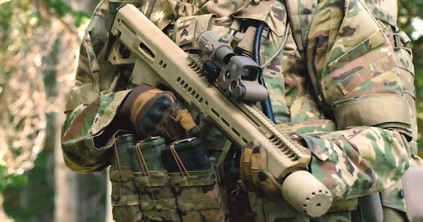 One of these rifles will become the Army's next-generation weapon of choice