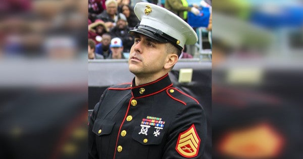 Marine public affairs chief arrested at Camp Lejeune in connection with theft of Florida police cruiser