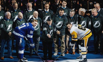 46 Medal of Honor recipients came together for a hockey game, and this badass photo was the result