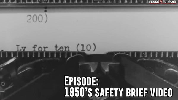 Flask & Purpose: How to take a 10-day leave, according to this hilarious 1950s training video