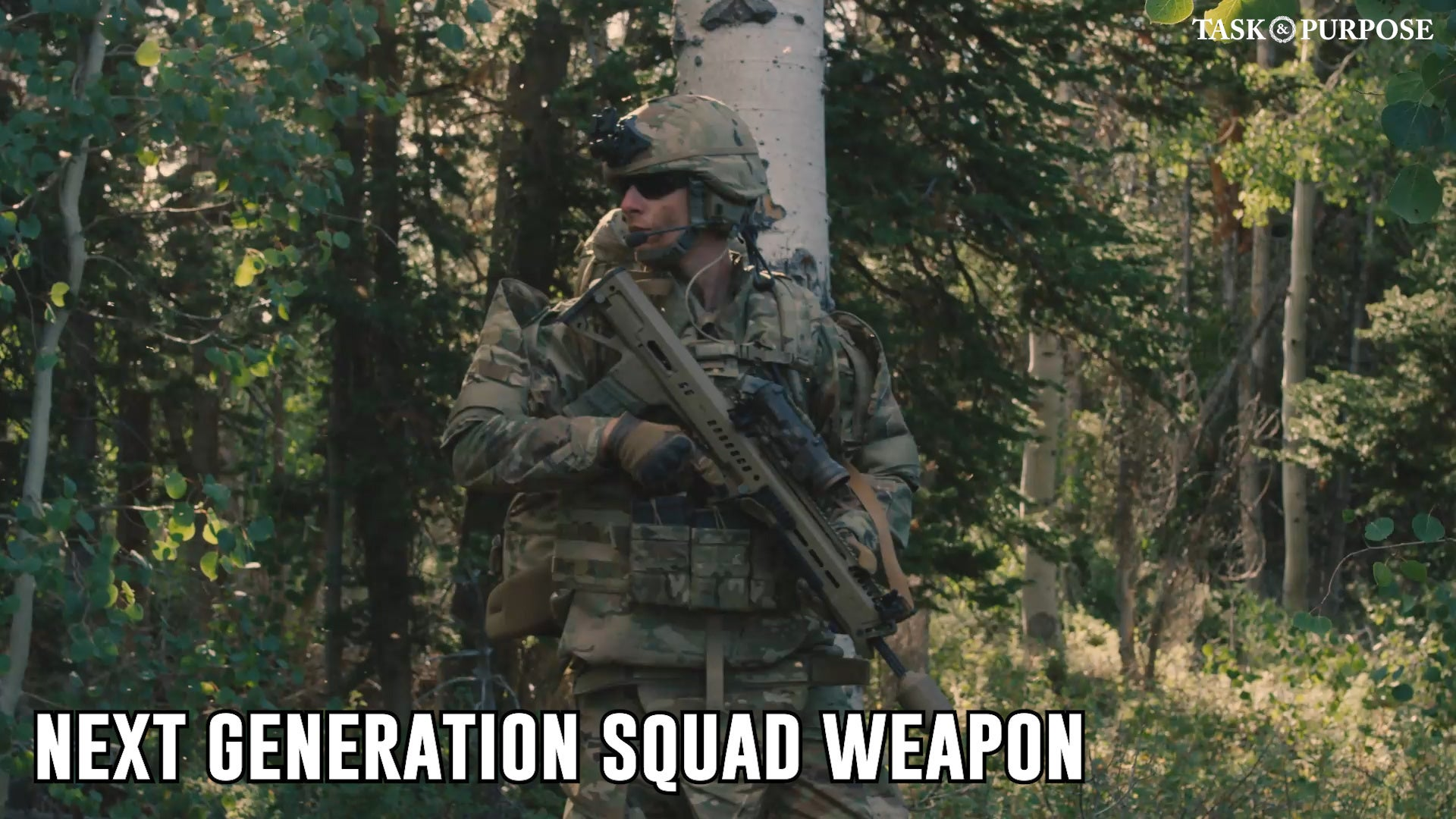 Video: Meet one of contenders for the Army's Next Generation Squad Weapon