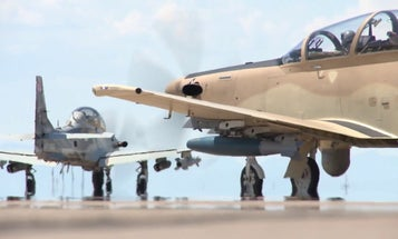 Move over A-10: The Air Force is picking up some brand new light attack aircraft