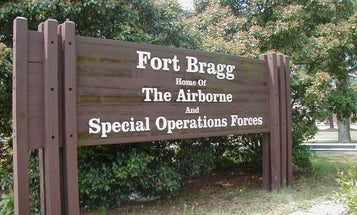 Was Fort Bragg the location of a military exorcism in the 1980s?
