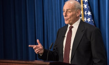 The White House says John Kelly was 'totally unequipped to handle the genius' of Trump in a totally real statement