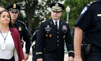 Here's the military record of Lt. Col. Vindman, the soldier testifying at Trump's impeachment inquiry