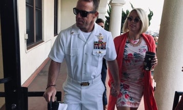 Top Navy admiral upholds sentence for Eddie Gallagher but will let him retire as an E-6