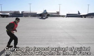Air Force deployments just keep getting shorter: B1 bombers that flew to Saudi Arabia last week are already back home