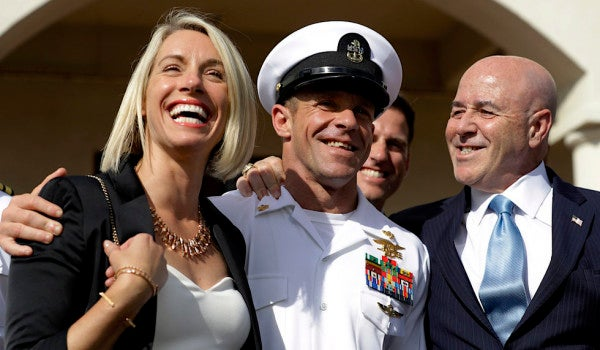 Navy SEAL Eddie Gallagher's family is asking Trump for a presidential pardon
