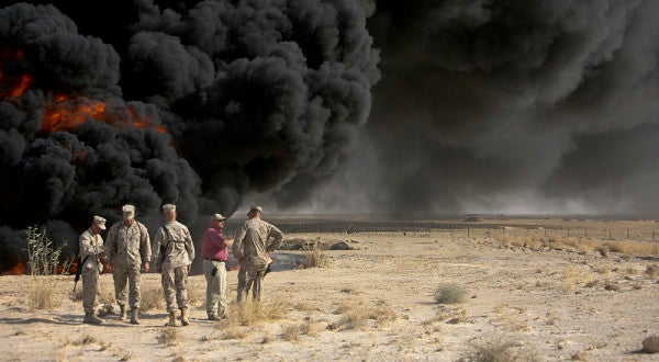 More veterans are getting cancer, and some suspect it's due to burn pits in Iraq and Afghanistan