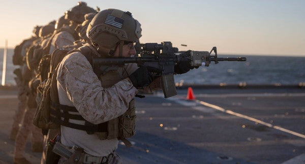 The Marine Corps ups requirements for sergeant and staff sergeant promotions
