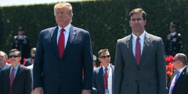 Trump reportedly came dangerously close to firing Esper over using active-duty troops to quell protests