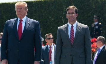 Defense secretary defends Trump amid claims he called America's war dead 'losers'