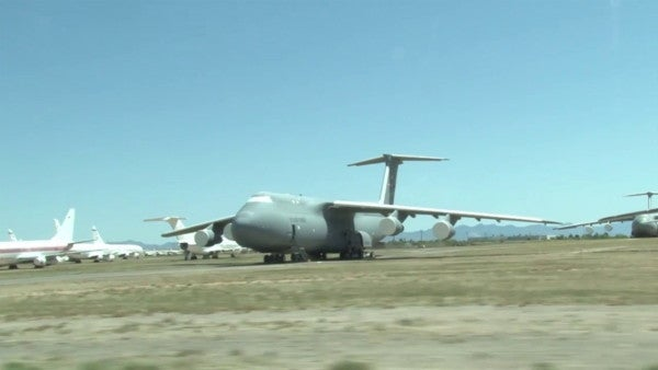 How an Arizona aircraft graveyard saves taxpayers millions of dollars in spare parts ever year