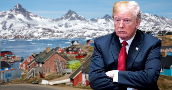 Trump's obsession with buying Greenland may have complicated the release of military aid to Ukraine, US ambassador says