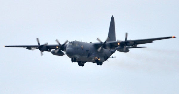 Coast Guard suspends search for special tactics airman who fell from C-130