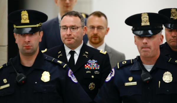 The White House has dismissed Lt. Col. Vindman after his testimony in the Trump impeachment inquiry
