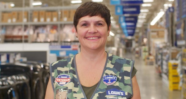 How a veteran and military spouse helps Lowe's prove its military-friendly label