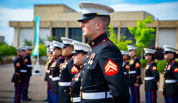 A Marine vet donated his uniform so a hit-and-run victim can be buried in it