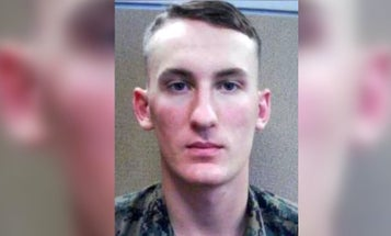 Manhunt expands for Marine deserter on the run for allegedly murdering his mother's boyfriend