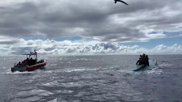 Watch the Coast Guard seize $69 million in cocaine from a narco sub
