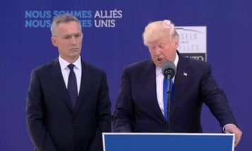 NATO chief to squabbling allies: Stop, collaborate, and listen