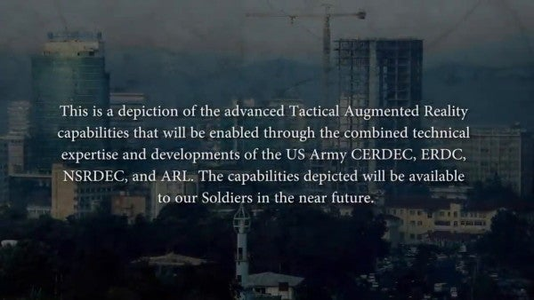 The Army's futuristic heads-up display is coming sooner than you think