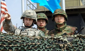 Pentagon denies that the US may pull up to 4,000 troops out of South Korea