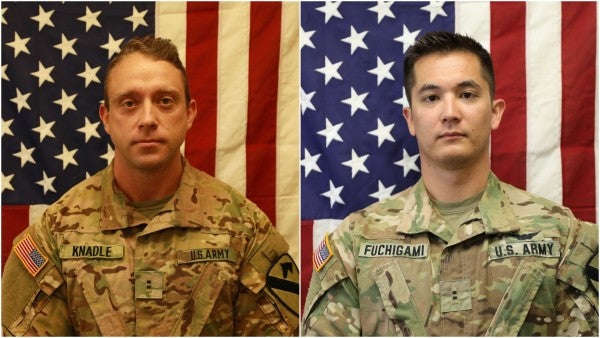 Army identifies 2 soldiers killed in helicopter crash in Afghanistan