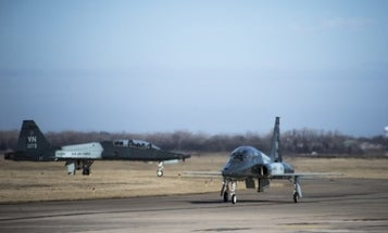 Two airmen killed when training jets crash in Oklahoma