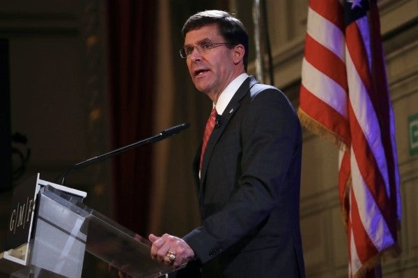 SecDef Esper 'flabbergasted' by Navy Secretary making secret deal with White House on Gallagher case