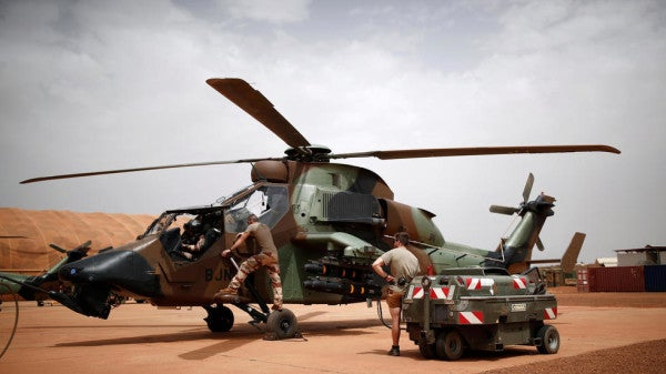 13 French troops killed in helicopter collision while pursuing militants in Mali